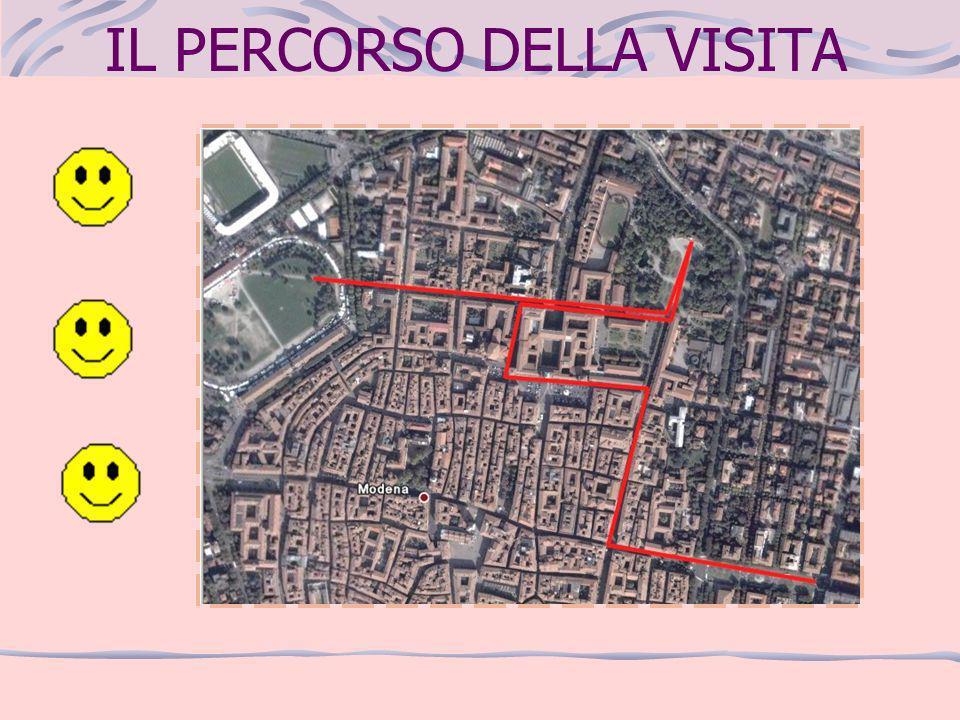 LARGO GARIBALDI Arrivo a Modena in Largo Garibaldi (Porta Bologna) La fontana del Graziosi rappresenta i due fiumi che passano per Modena: Panaro e Secchia.
