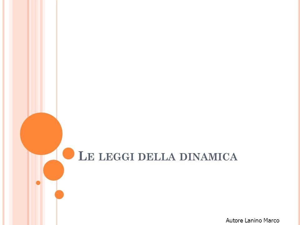 G LI ENUNCIATI DELLE 3 LEGGI I principio (P.