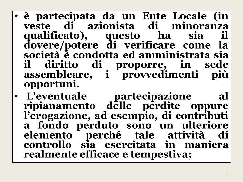 A tal proposito, lart.19, c. 1, del D. L. 1º luglio 2009, n.