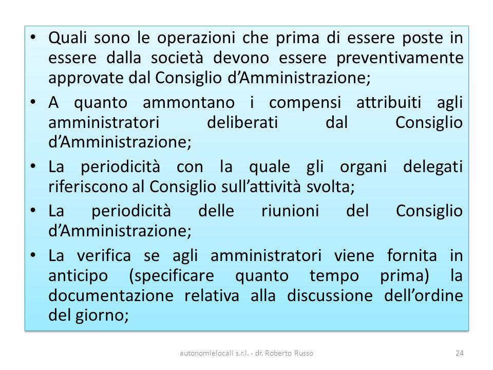autonomielocali s.r.l. - dr.