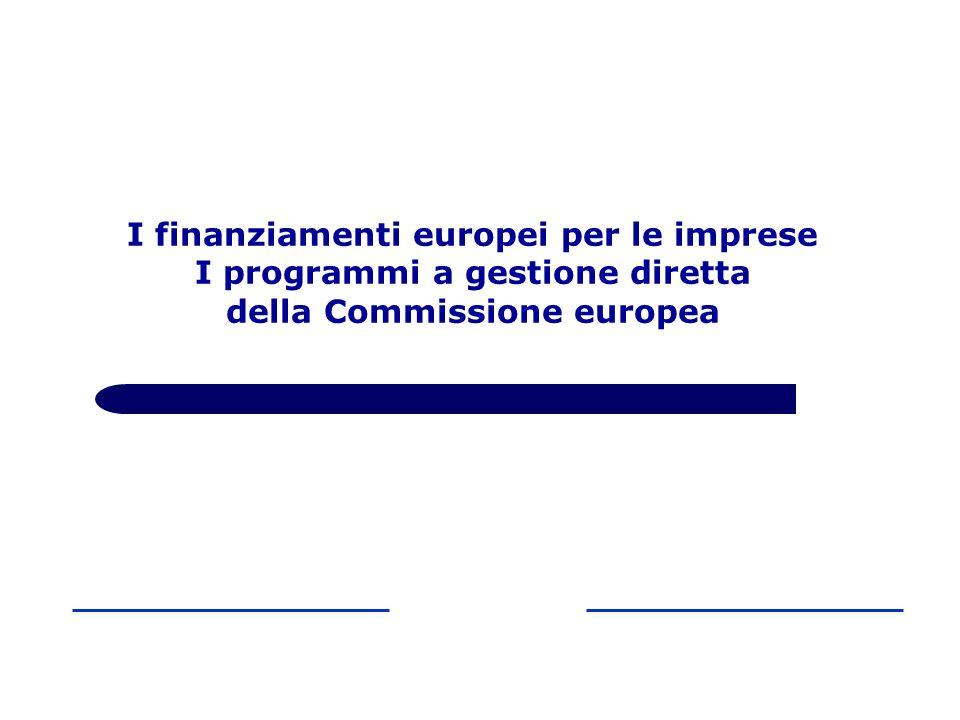In fase progettuale il QL consente di: Agenda 2000 Orientamenti Europa 2020 La programmazione europea 2000-2006 2007-2013 2014-2020