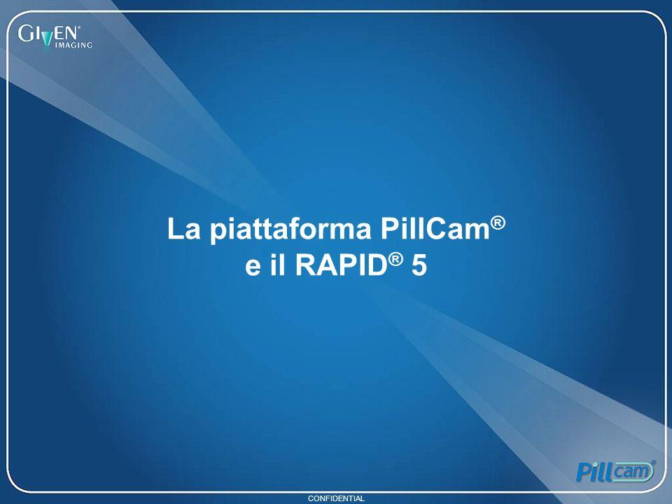 CONFIDENTIAL La piattaforma PillCam ® e il RAPID ® 5