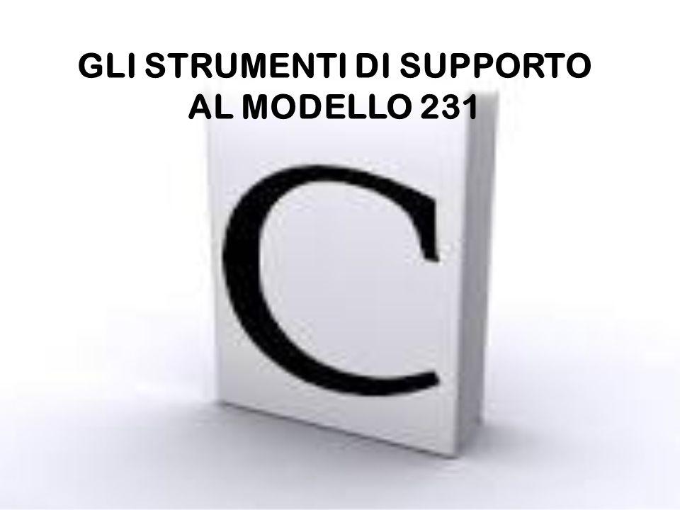 GLI STRUMENTI DI SUPPORTO AL MODELLO 231