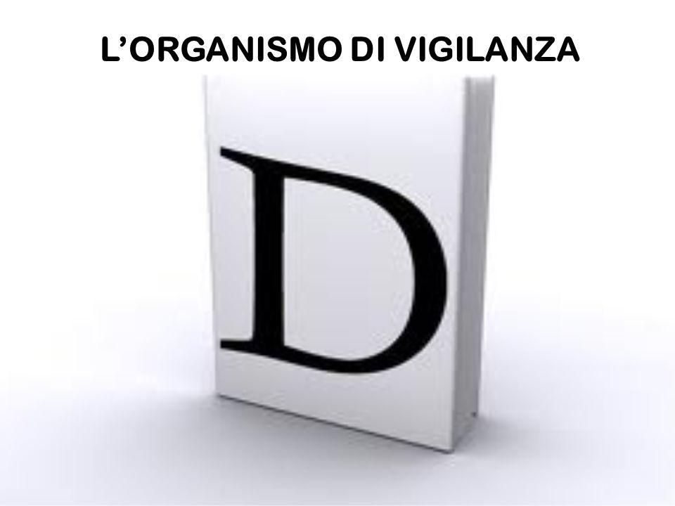 LORGANISMO DI VIGILANZA