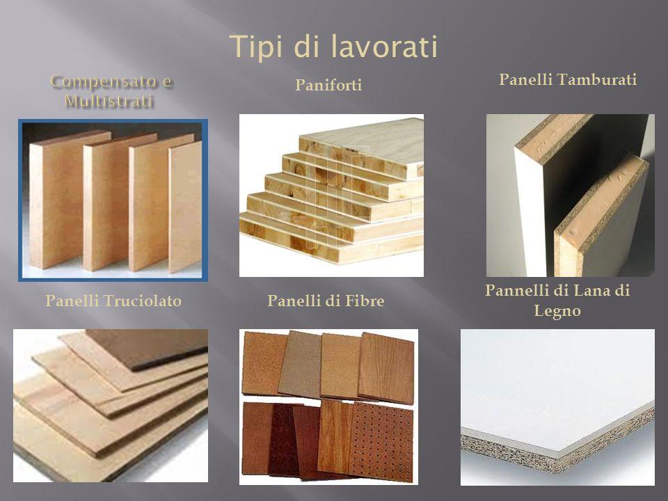 Materiale prodotto dall uomo mediante l incollaggio di tavole di legno.