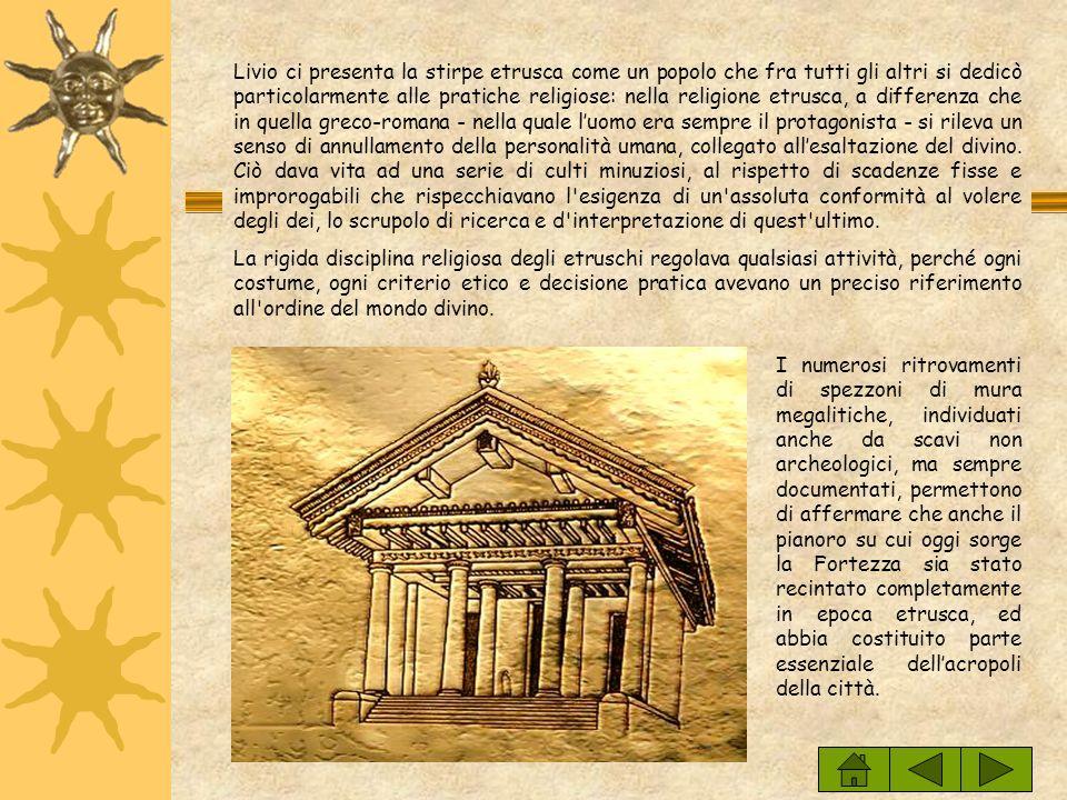 Sulla sommità della collina di Volterra non cerano sorgenti naturali, il che rendeva necessaria la realizzazione di alcune cisterne destinate a raccog