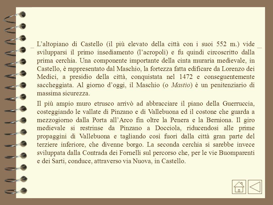 Porta San Francesco Porta a Selci Porte della cerchia medioevale