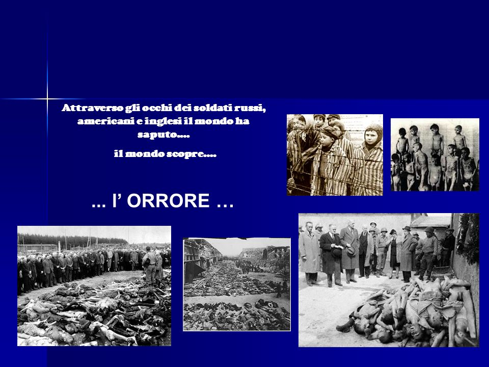 Hitler si suicidò nel bunker con Eva Brown e Goebbels. Il 25 Aprile 1945 gli alleati avevano liberato lItalia. Il 7 Maggio 1945 la Germania firmò la r