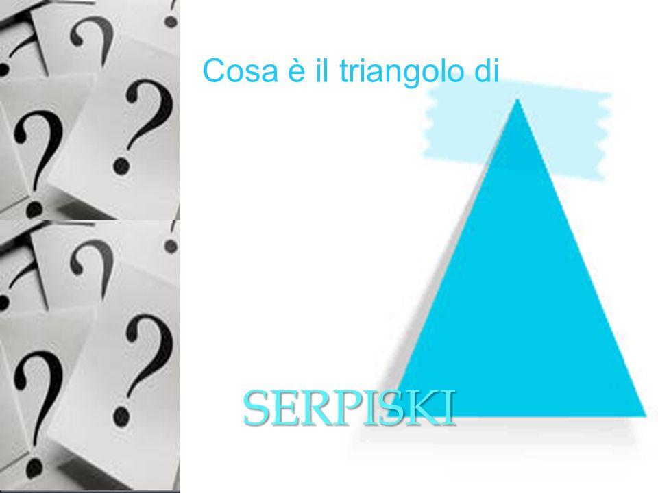 A costruire i grattacieli ? Cosa è il triangolo di SERPISKI