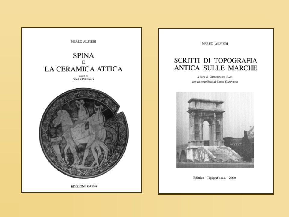 Larea degli scavi 1922-1935(Valle Trebba) 1947-1952 (Valle Trebba) 1953-1966 (Valle Pega)