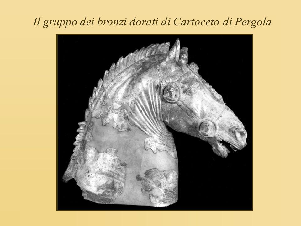 Il gruppo dei bronzi dorati di Cartoceto di Pergola