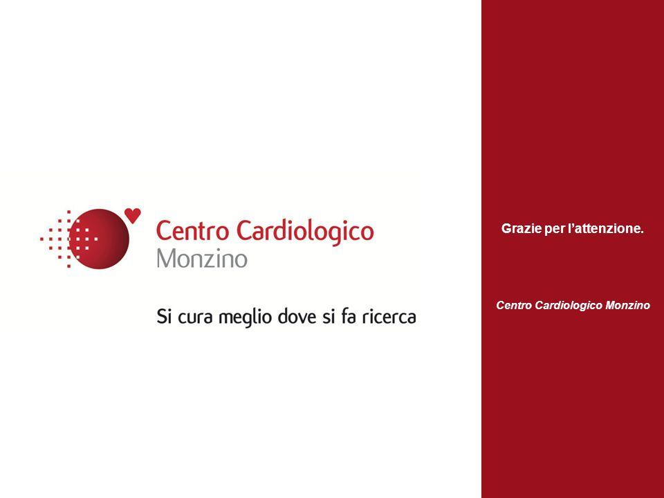 Grazie per lattenzione. Centro Cardiologico Monzino