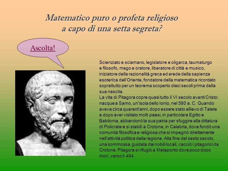 Scienziato e sciamano, legislatore e oligarca, taumaturgo e filosofo, mago e oratore, liberatore di città e musico, iniziatore della razionalità greca