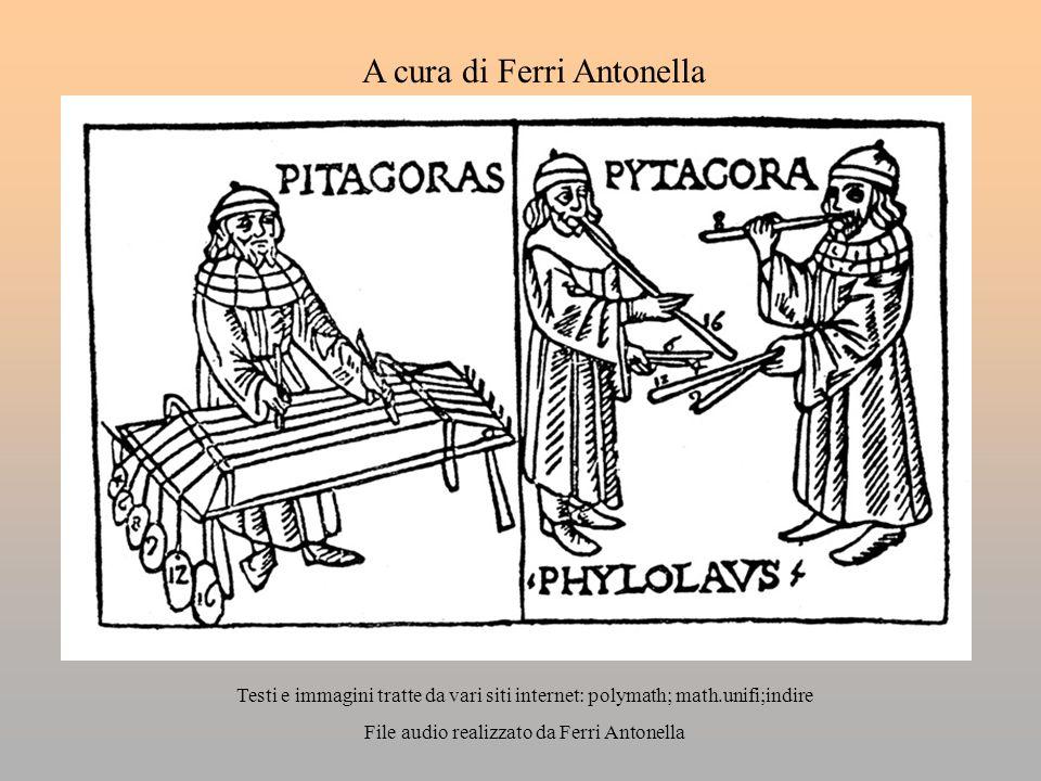 A cura di Ferri Antonella Testi e immagini tratte da vari siti internet: polymath; math.unifi;indire File audio realizzato da Ferri Antonella