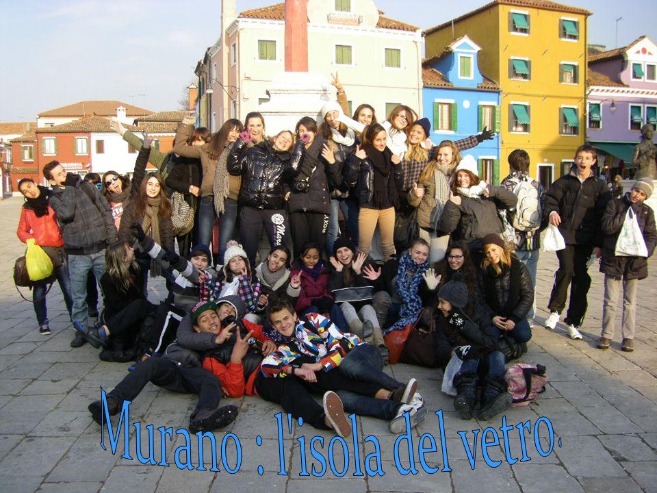 Nella prima giornata siamo partiti da Punta Sabbioni per andare a Murano.