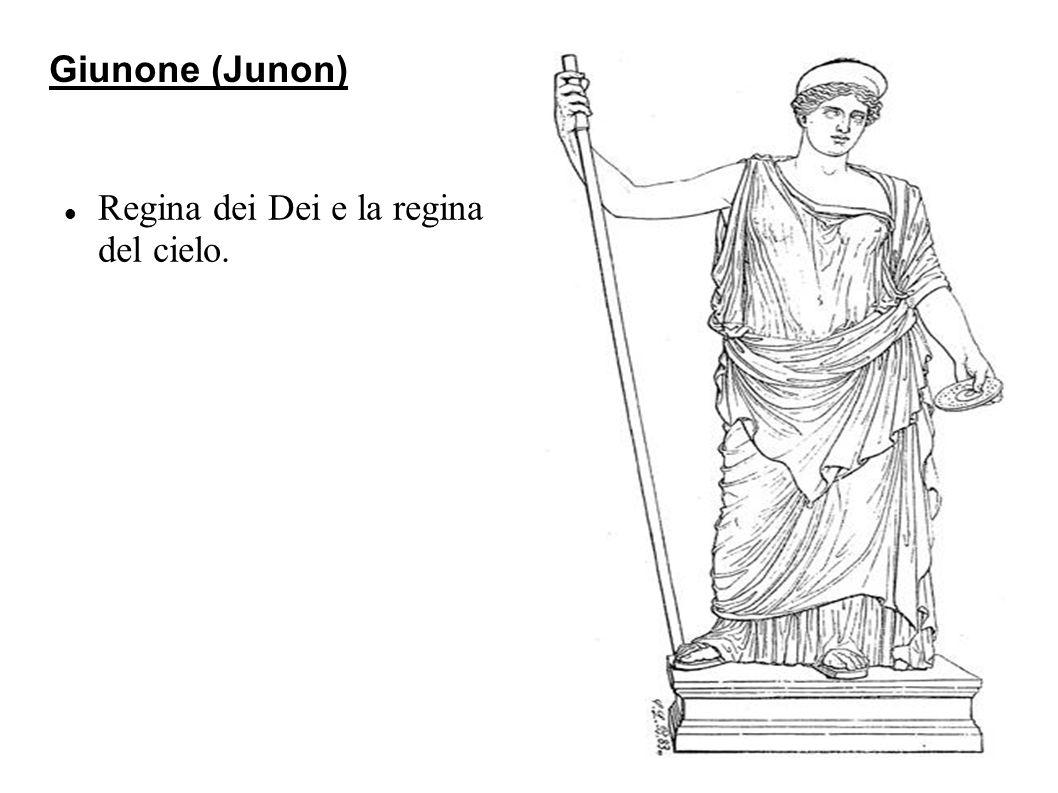 Giunone (Junon) Regina dei Dei e la regina del cielo.