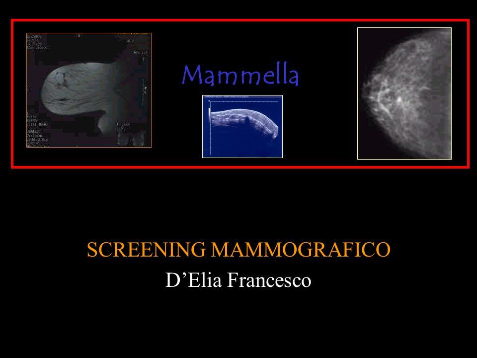 SCREENING MAMMOGRAFICO DElia Francesco Mammella