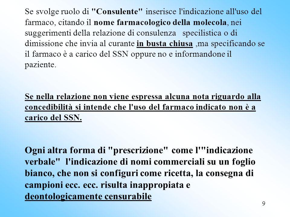 70 Nota 10 - acido folico - cianocobalamina idrossicobalamina La prescrizione a carico del SSN è limitata ai pazienti con: - anemie megaloblastiche dovute a carenza di vitamina B12 e/o di folati.