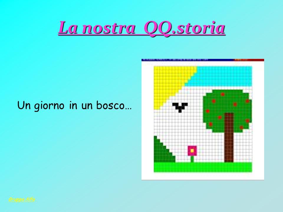 La nostra QQ.storia Un giorno in un bosco… Gruppo Alfa