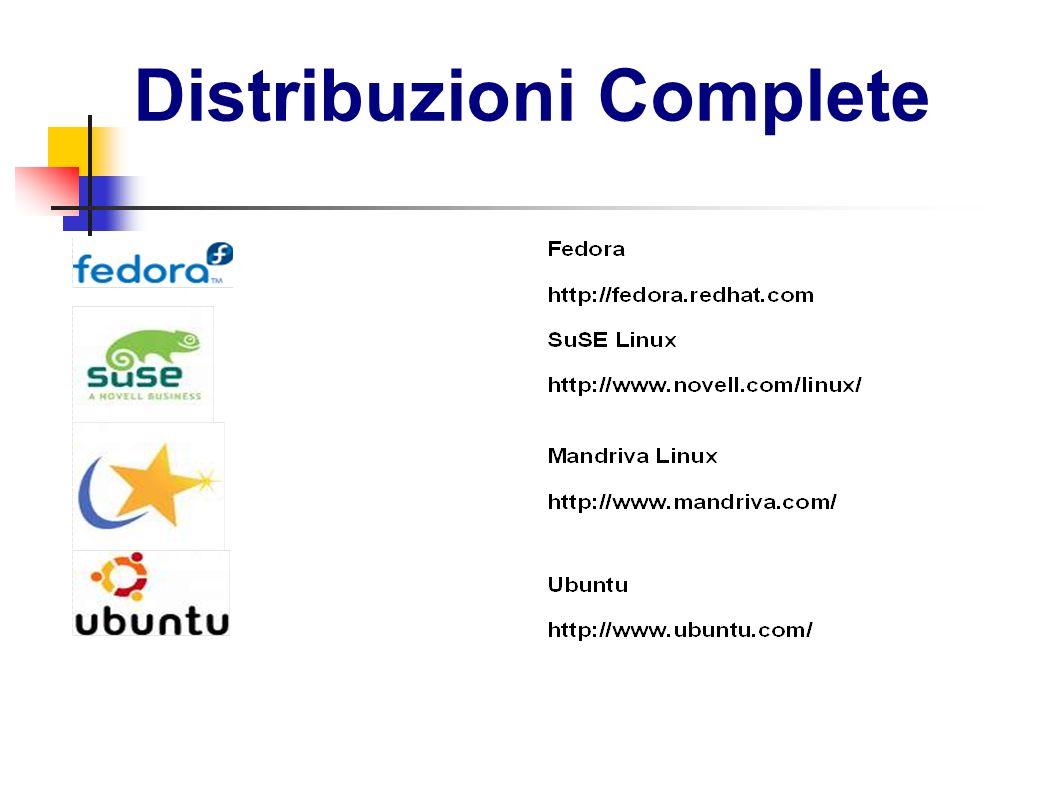 Distribuzioni Complete