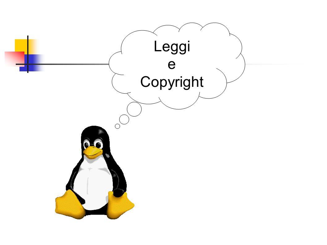Cosa significa Licenza GPL Le licenze normali concedono l uso del software da parte dei licenziatari a particolari condizioni (spesso, ma non solo, a pagamento) Esistono diversi tipi licenze chiuse, come le licenze freeware, shareware, e binary-only, le più diffuse.