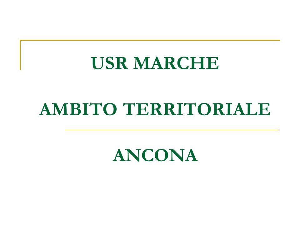 USR MARCHE AMBITO TERRITORIALE ANCONA