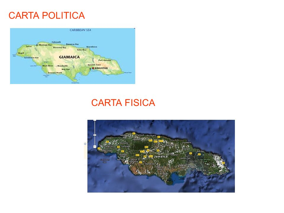 CARTA POLITICA CARTA FISICA