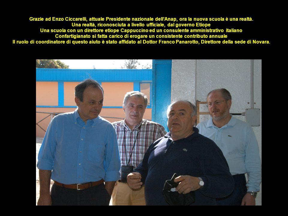 Grazie ad Enzo Ciccarelli, attuale Presidente nazionale dellAnap, ora la nuova scuola è una realtà. Una realtà, riconosciuta a livello ufficiale, dal
