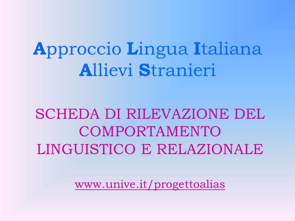 Fase della prima comunicazione: proporre attività di interazione e comunicative in situazione, soprattutto in forma orale