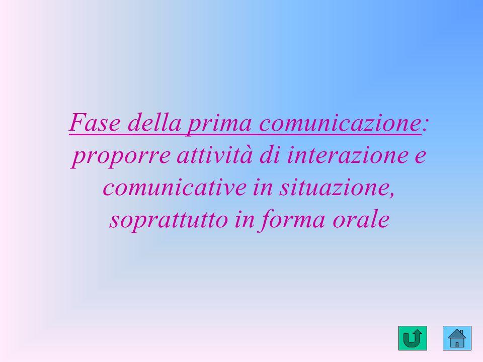 LIVELLO 1: Comprensione di semplici messaggi e produzione di tipo telegrafico Comprende ma non parla autonomamente Comprende domande a risposta chiusa