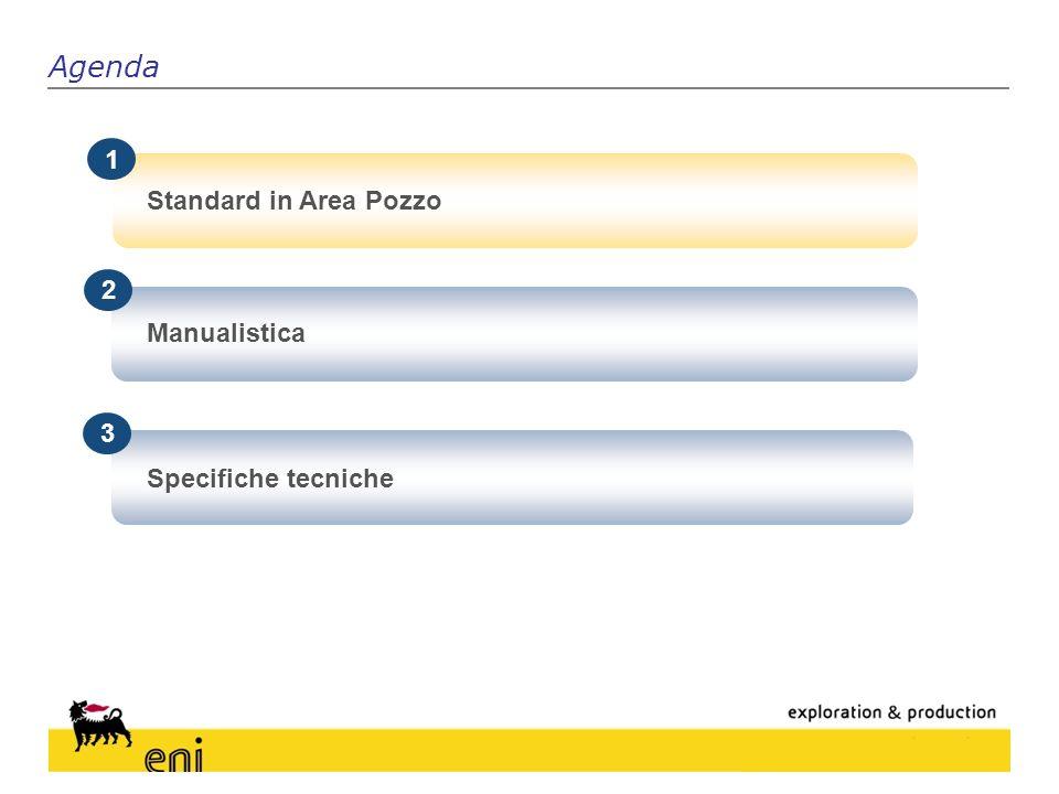 Gli Standard come supporto alle Attività di Pozzo Standard in Area Pozzo