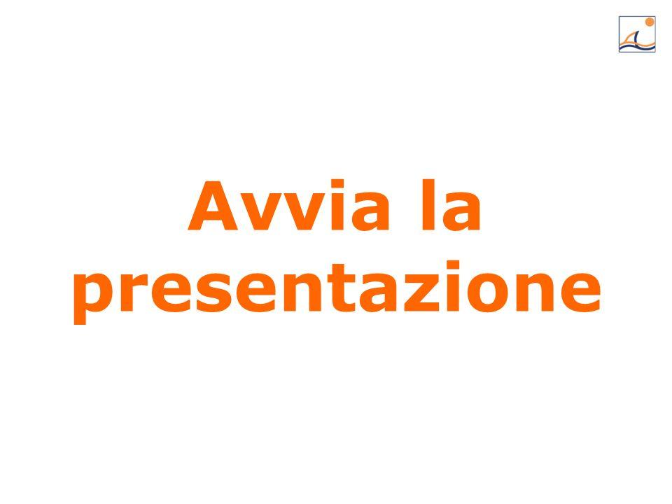 Avvia la presentazione