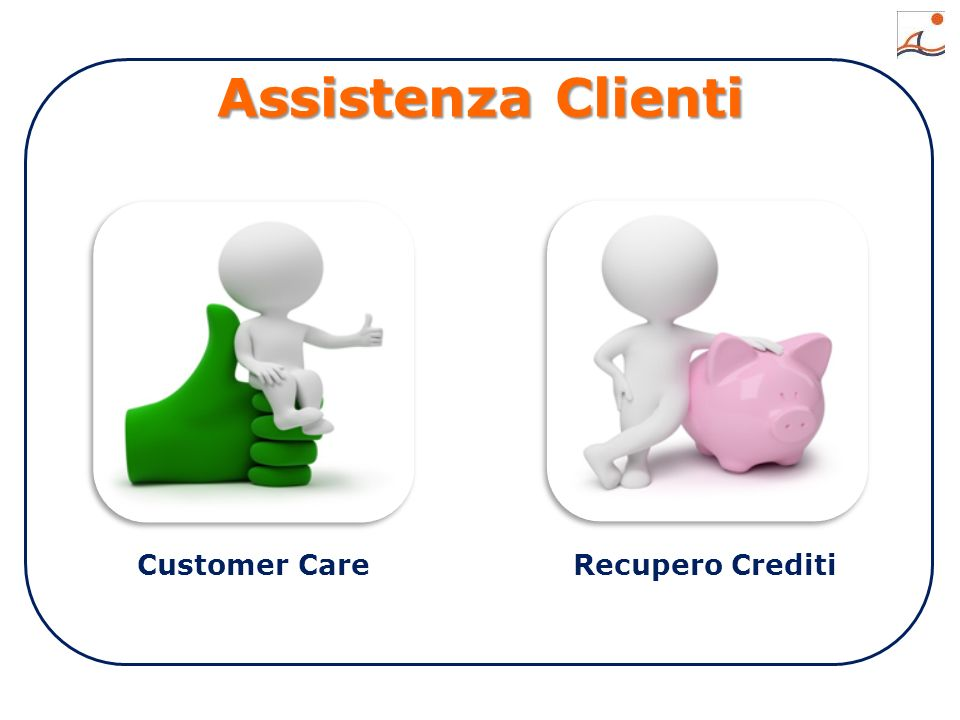 Assistenza Clienti Customer CareRecupero Crediti