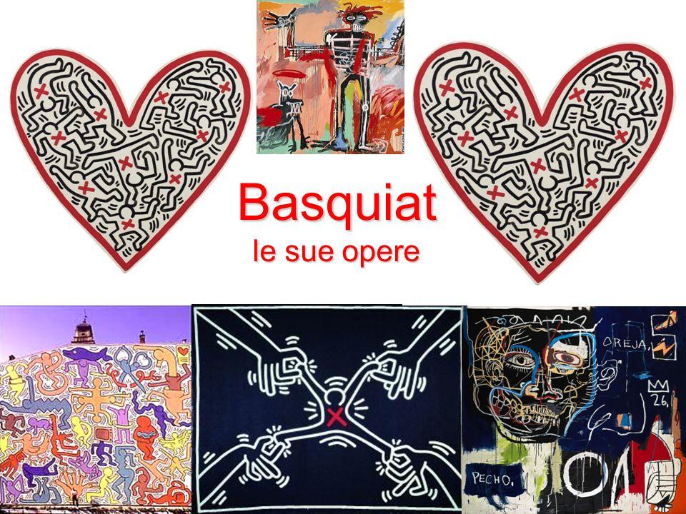Basquiat le sue opere