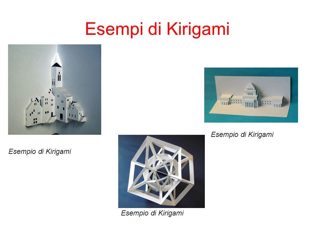 Esempi di Kirigami Esempio di Kirigami