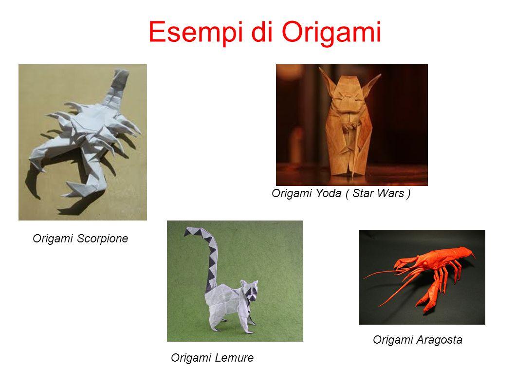 Esempi di Origami Origami Scorpione Origami Lemure Origami Aragosta Origami Yoda ( Star Wars )