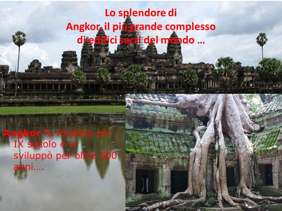Dopo diversi secoli di guerre, sotto il regno di Suryavarman I, Angkor e il suo popolo invasero la terra dei Cham e dei Vietnamiti; egli allargò larea di influsso khmer, coinvolgendo THAILANDIA, LAOS, VIETNAM E MALESIA