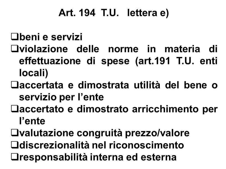 Art. 194 T.U.