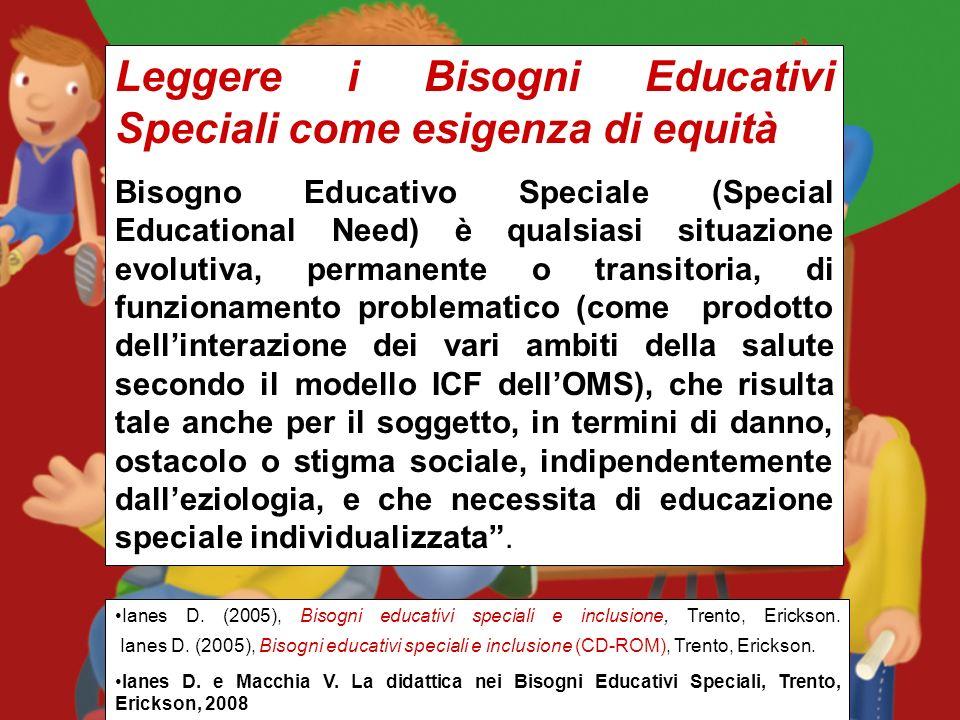 I Bisogni Educativi Speciali secondo lICF e le strategie di integrazione secondo la Speciale normalità Dario Ianes Università di Bolzano www.darioiane