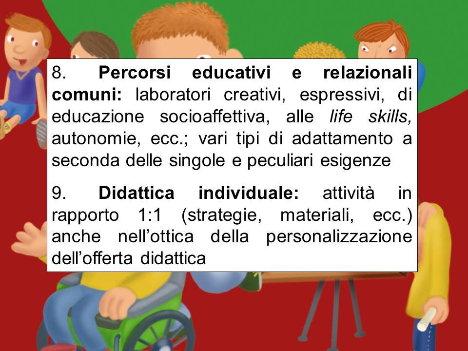 6. Documentazione: scambio di informazioni e esperienze, possibilità di confronto con altre realtà scolastiche, documentazione delle Buone prassi di i