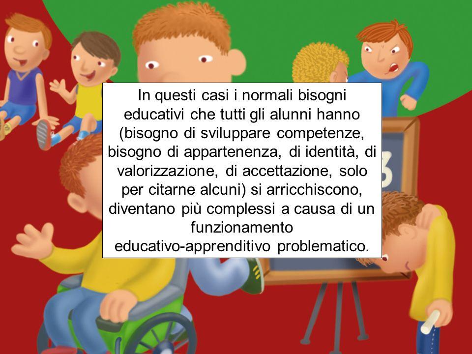 Leggere i Bisogni Educativi Speciali come esigenza di equità Bisogno Educativo Speciale (Special Educational Need) è qualsiasi situazione evolutiva, p
