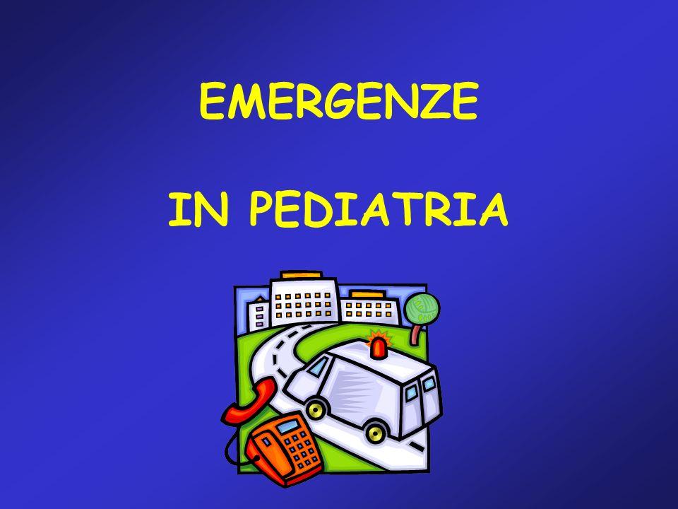 EMERGENZE IN PEDIATRIA