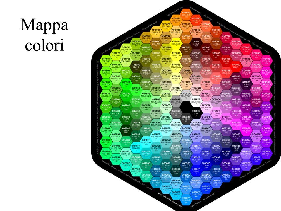 Mappa colori