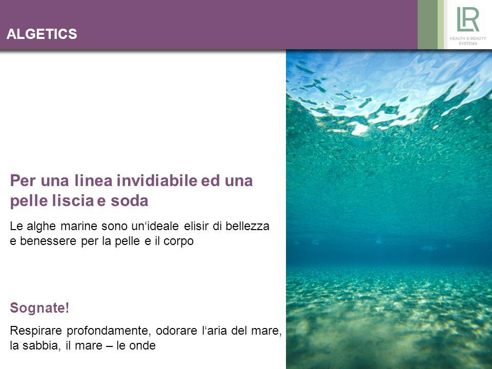 2 ALGETICS LR persegue con la serie ALGETICS la famosa talassoterapia.