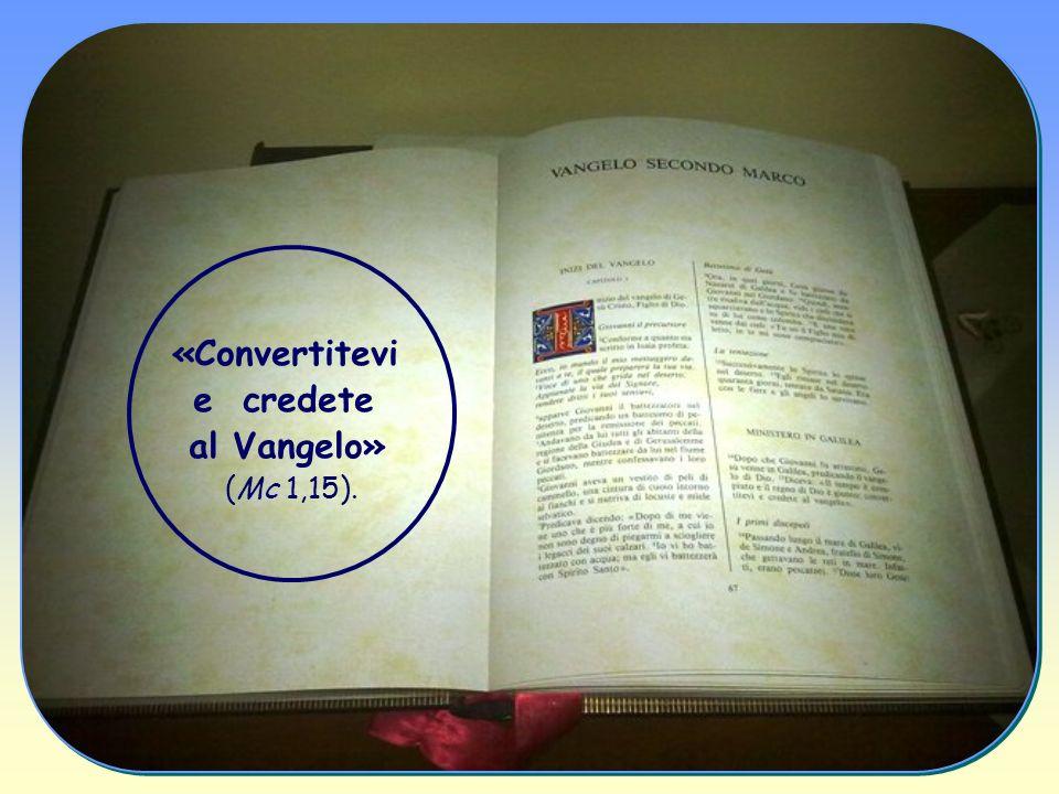 Ecco perché ognuno di noi può e deve accogliere l invito così pressante ed esigente di Gesù.
