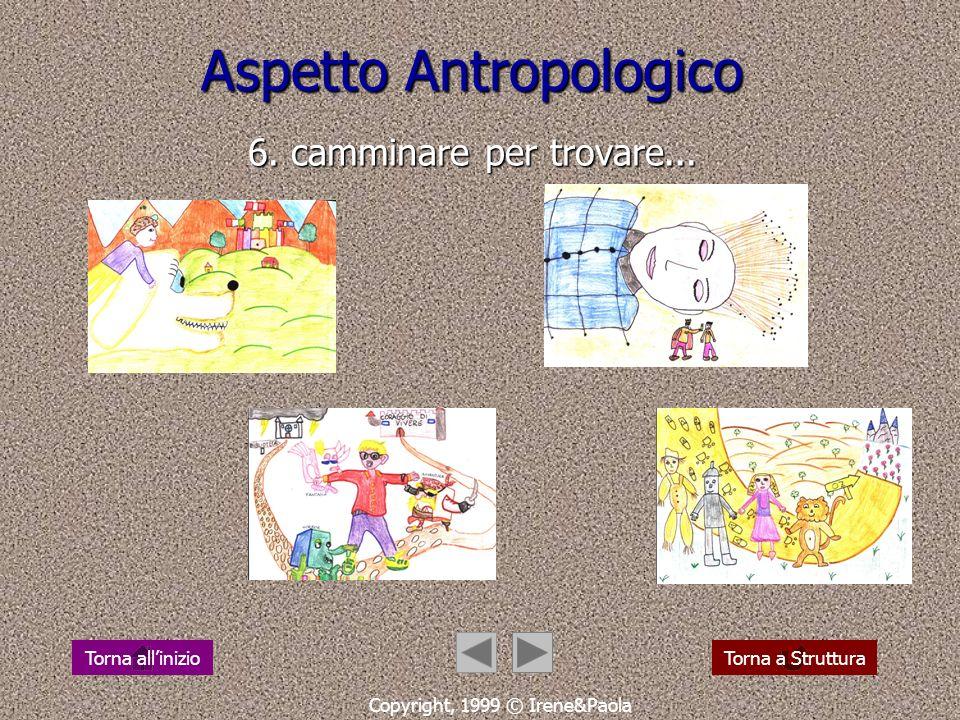 Aspetto Antropologico 5.... e vissero felici e contenti Copyright, 1999 © Irene&Paola Torna a StrutturaTorna allinizio