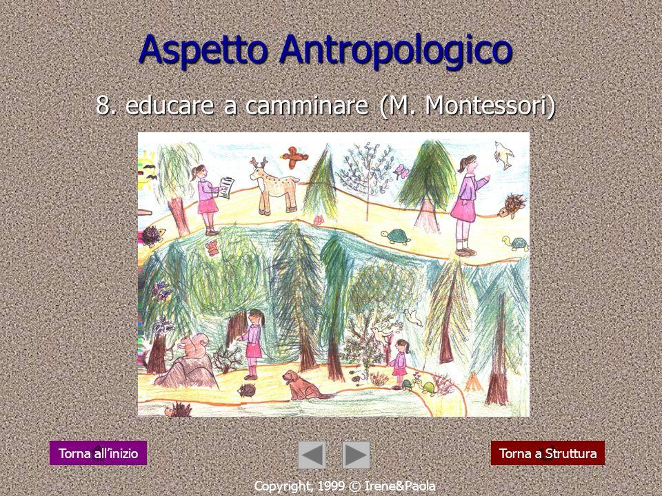 Aspetto Antropologico 7................ Copyright, 1999 © Irene&Paola Torna a StrutturaTorna allinizio