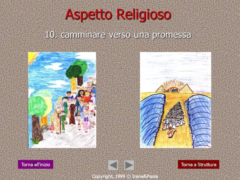 Aspetto Religioso 9. la storia di salvezza: una lunga strada Copyright, 1999 © Irene&Paola Torna a StrutturaTorna allinizio