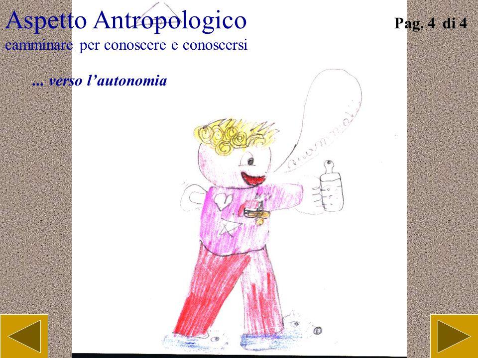 Aspetto Antropologico camminare per conoscere e conoscersi Pag. 3 di 4... conoscere il nuovo