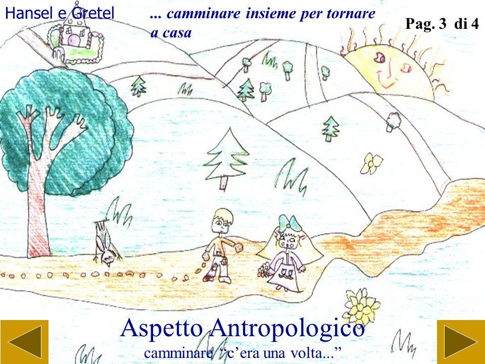 Aspetto Antropologico camminare cera una volta... Pag. 2 di 4 Il brutto anatroccolo... cammina per trovare se stesso